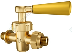 Threaded end ball valves. Image