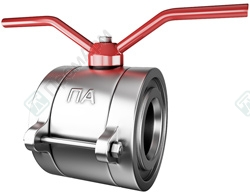 Titanium ball valves. Image