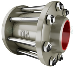 Steel check valves. Image