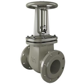 Gate valves 30s41nzh of PA manufacturing. Image