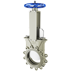 Knife gate valves of PA 520 series. Image