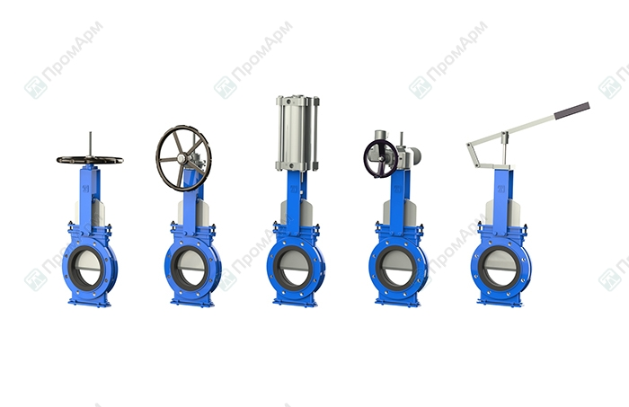 Knife gate valves PA550 series. Operation. Image