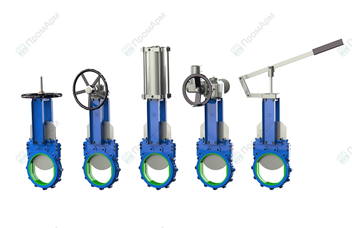 Knife gate valves PA560 series. Operation. Image