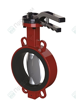 Butterfly valves of PA 600 series. Image