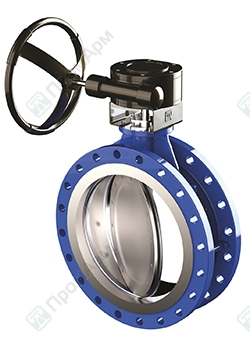 PromArm Butterfly Valves PA 700 with double offset. Image