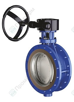 PromArm Butterfly Valves PA 900 with tripple offset. Image